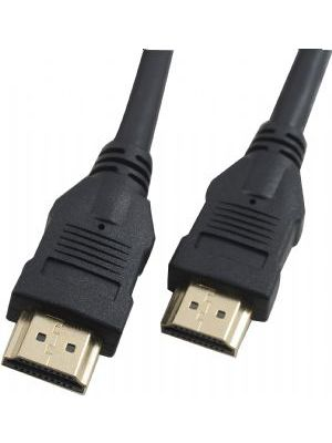 Cabac HDMI Cable 1m - V1.4 19pin M-M Male to Male Gold Plated 3D 1080p Full HD High Speed with Ethernet - >CBAT-HDMI-MM-1