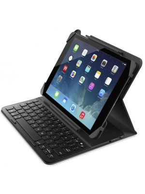 Belkin QODE Slim Folio Case Cover with Bluetooth Keyboard for iPad 2017 2018 Air Air 2 Ultra Thin Lightweight Water repellent ~MPLT-SLIMFOLIO