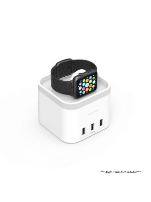 mbeat® Power Time Apple Watch Charging Dock with 3 Extra Smart Charging Ports