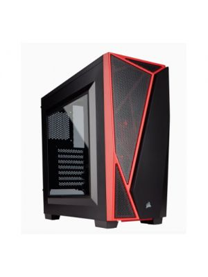 Corsair Carbide SPEC-04 Mid-Tower Gaming Case, Black & Red (LS)