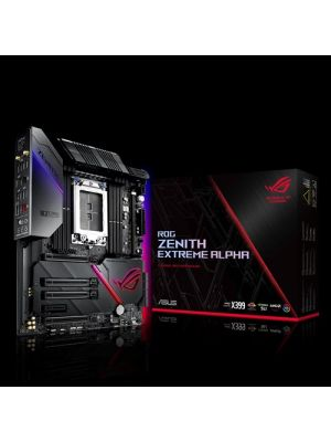 ASUS ROG Zenith Extreme Alpha X399 HEDT Gaming Motherboard AMD Threadripper 2 (TR4) EATX DDR4 M.2 10G LAN AC WIFI USB 3.1