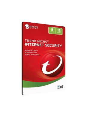 Trend Micro Internet Security 5D 12MTH Retail Digital Download Card