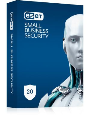 ESET Small Business Pack 20-20 Endpoints,20 Android Devices,2 File Servers,25 Mailboxes,1Y Keys Only