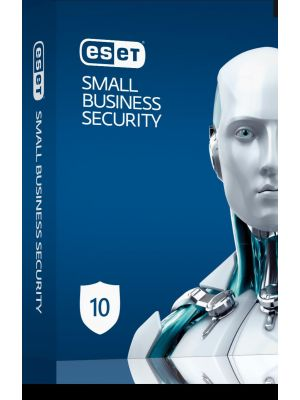 ESET Small Business Pack 10-10 Endpoints,10 Android Devices,1 File Server,15 Mailboxes,1Y Keys Only