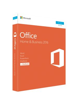 Microsoft Office Home & Business 2016 (32/64-bit) - No DVD Retail Box SP2 (LS) > SMS-OFHB2019-ML