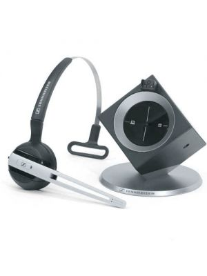 Sennheiser DW Office (Dual Connectivity) DECT Headset, Noise Cancelling Microphone, Headband or Ear Hook, 8 Hours Talk Time, 2 Years Warranty