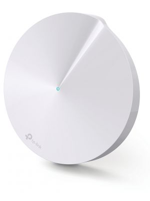 TP-Link Deco M5 (1-Pack) Whole-Home Mesh Wi-Fi 1300Mbps Router Built-In Security Coverage 1300sqm 2xGbit Port 1xUSB-C Bluetooth Alexa Homecare