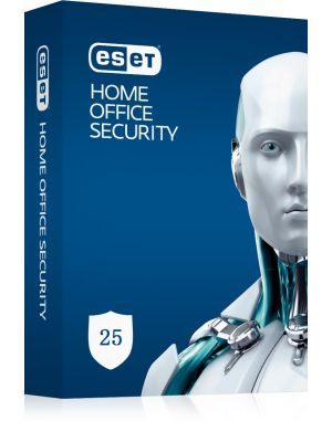ESET Home Office Security Pack 25 - 25 Endpoints, 5 Android Devices, 2 File Servers, 1Y Keys Only