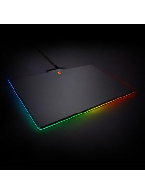 Gigabyte AORUS P7 RGB Fusion Gaming Mouse Pad Micro-Textured Surface Non-Slip Rubber Base Detachable Braided Cable Plastic 350x240x4.6mm