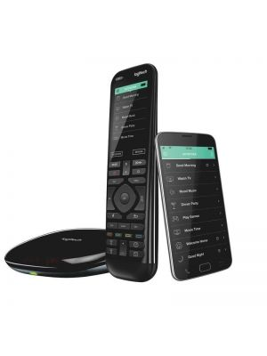 Logitech Harmony Elite Advanced Universal Remote Control  with Hub One-touch actions Universal control Easy set-up Custom activities