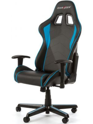 DXRacer Formula FL08 Gaming Chair - Sparco Style Neck/Lumbar Support Black & Blue