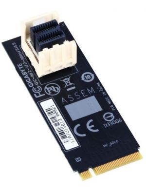 Gigabyte M2-U2-MINISAS M.2 to U.2 Mini SAS Add-on Card Adapter for Intel 2.5' SSD NVMe PCIe 3.0 Gen3x4 SFF-8639