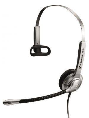 Sennheiser SH330 Over the Head Monaural Narrow Band Headset (05354) + CSTD 01 Easy Disconnect Phone Cable (05362)