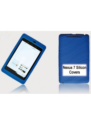 Tablet 7' Silicon Back Blue Back Case for Nexus 7 / 7' Tab